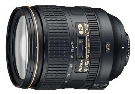 Обектив Nikon AF-S 24-120mm f/4 G ED VR