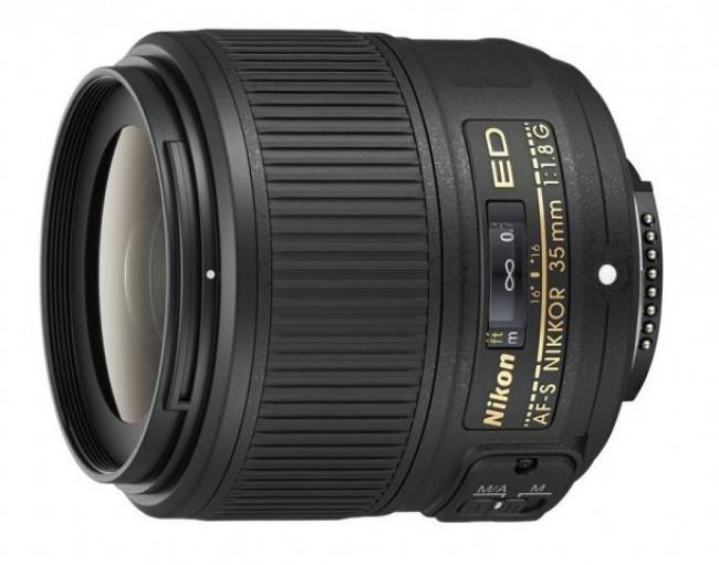 Обектив Nikon AF-S 35mm f/1.8G ED