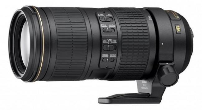 Обектив Nikon AF-S 70-200mm f/4G ED VR
