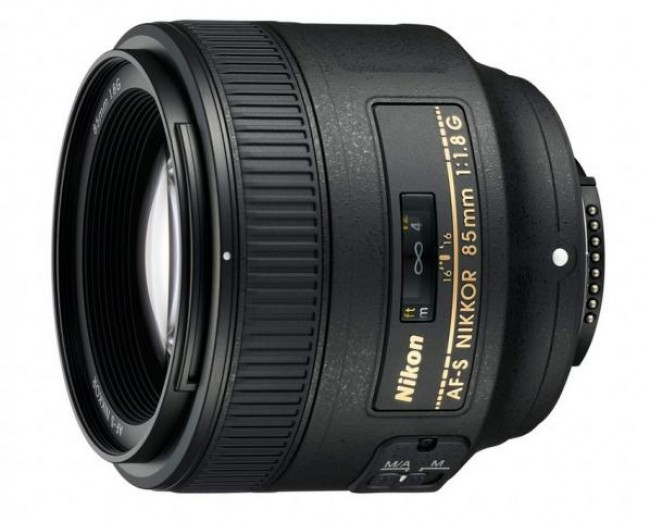 Обектив Nikon AF-S 85mm f/1.8G