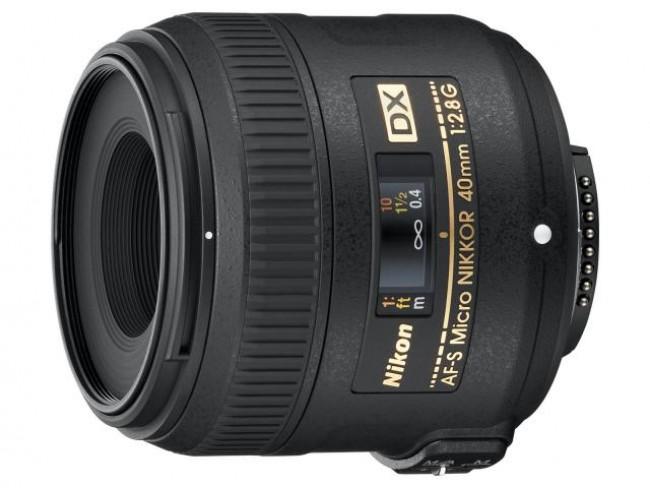 Обектив Nikon AF-S DX Micro 40mm f/2.8G