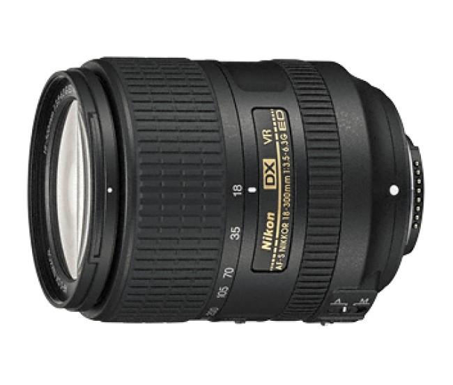 Обектив Nikon AF-S DX NIKKOR 18–300mm f/3.5–6.3G ED VR