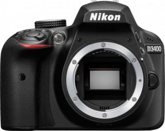Фотоапарат Nikon D3400 + обектив NIKON 18-140mm VR