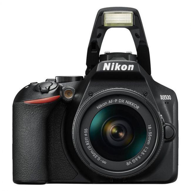 Фотоапарат Nikon D3500+обектив Nikon AF-P 18-55 VR