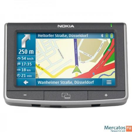 GPS навигация Nokia 500 Auto Navigation
