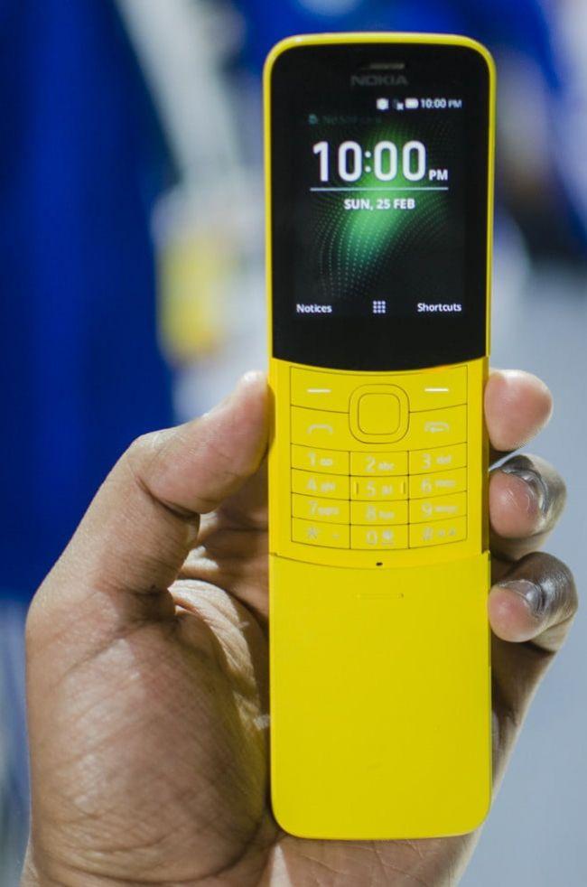 Снимки на Nokia 8110 4G (2018) Dualsim