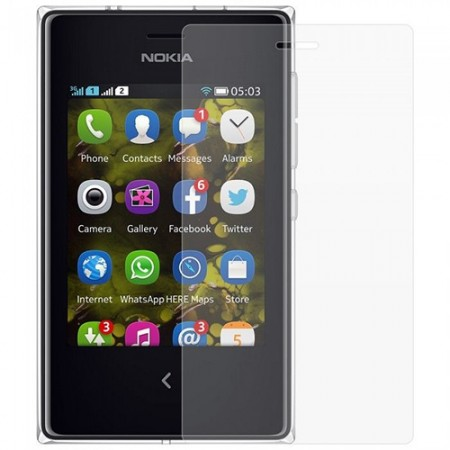 Стъклен Протектор за мобилен телефон Nokia Asha 503