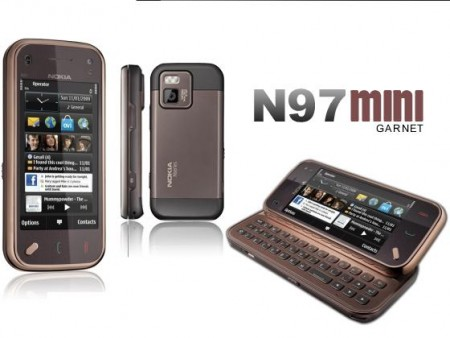 Цена Nokia N97 Mini Navi Edition