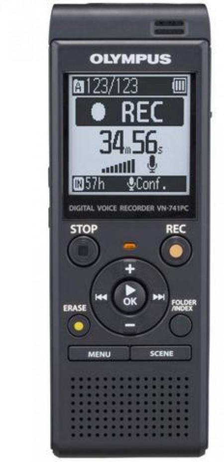 Цифров диктофон Olympus VN-741 PC BLACK