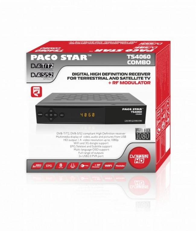 Цифров приемник Paco Star TS4060