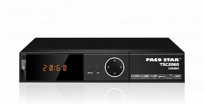 Цифров приемник Paco Star TSC 2060