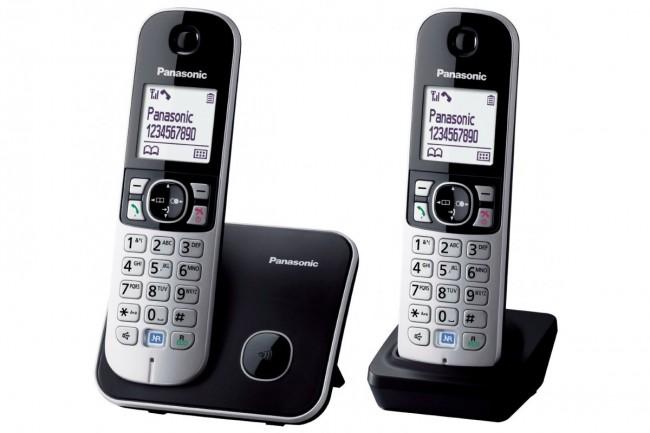 Стационарен телефон Panasonic KX-TG6812