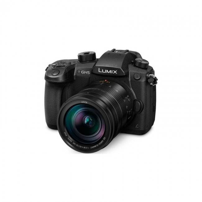 Фотоапарат Panasonic Lumix GH5 + обектив Panasonic Leica DG Vario-Elmarit 12-60mm f/2.8-4+батерия Panasonic + DMW-BLF19E