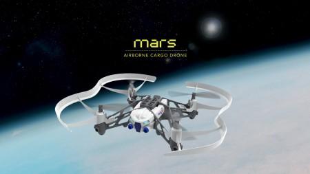 Дронове Parrot мини дрон Airborne Cargo Mars
