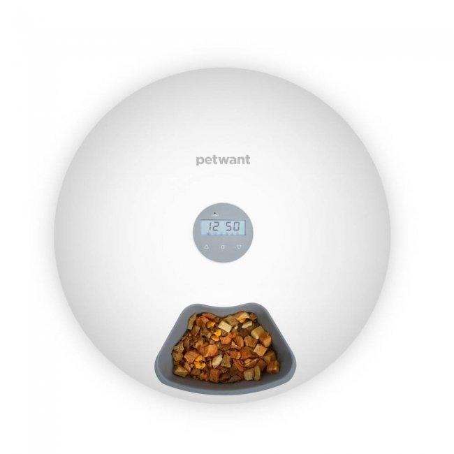 PetWant F6 LED Автоматична хранилка за животни