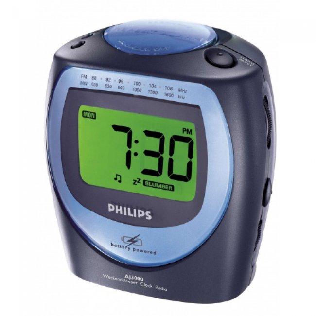 Радиочасовник Philips AJ3000