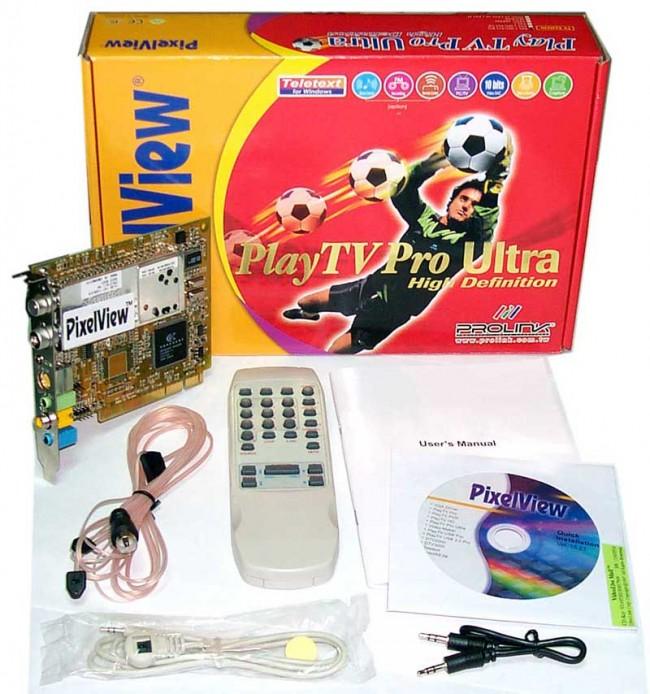 PixelView TV Тунер PlayTV Pro Ultra
