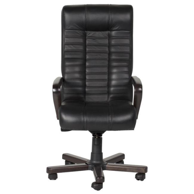 Офис стол Президентски офис стол Atlas - черен LUX