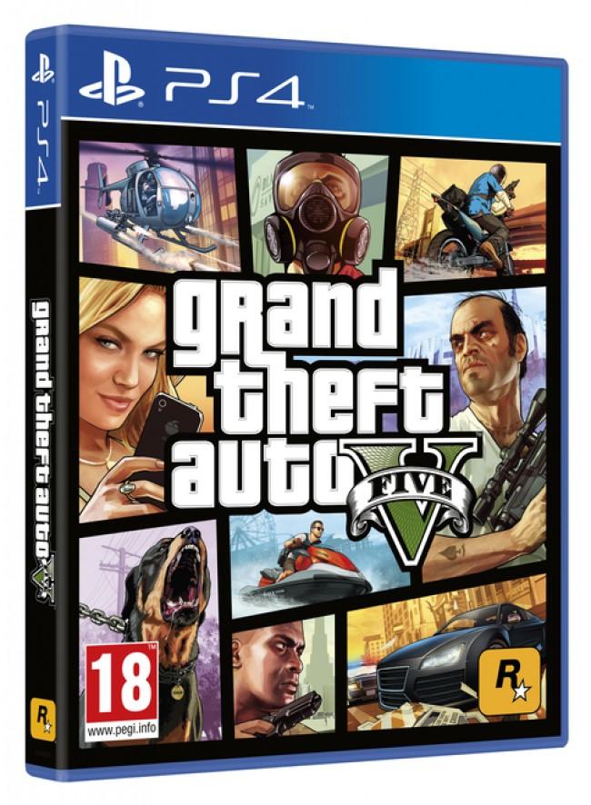PlayStation PS4 Games Grand Theft Auto V , GTA 5 за PS 4
