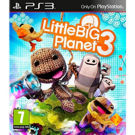 PlayStation PS4 Games LittleBigPlanet 3 (PS4)/EXP
