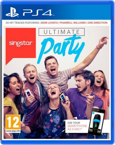 PlayStation PS4 Games SingStar Ultimate Party (PS4)