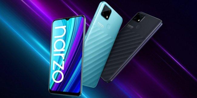 Смартфон Realme Narzo 50A Dual