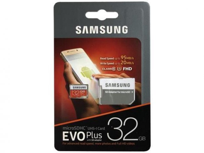 Карта памет Samsung 32GB micro SD Card Evo PLUS with adapter Class10