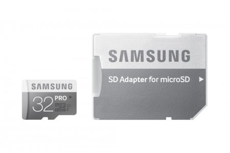 Карта памет Samsung 32GB micro SD Card Pro with adapter Class10