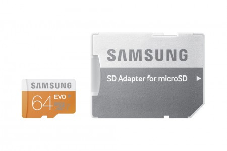 Карта памет Samsung 64GB micro SD Card Evo PLUS with adapter Class10