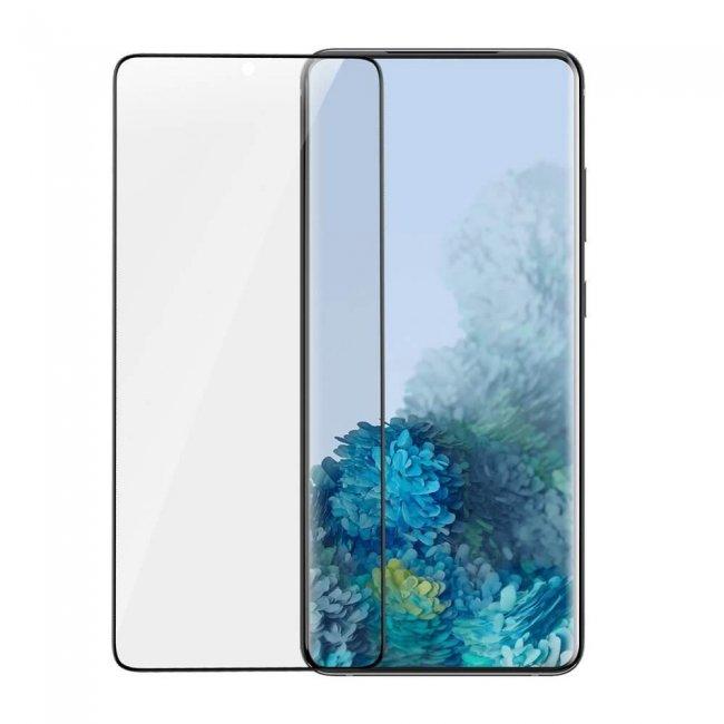 Стъклен Протектор за мобилен телефон Samsung Baseus Galaxy S20+ Full Screen Curved Soft Screen Protector