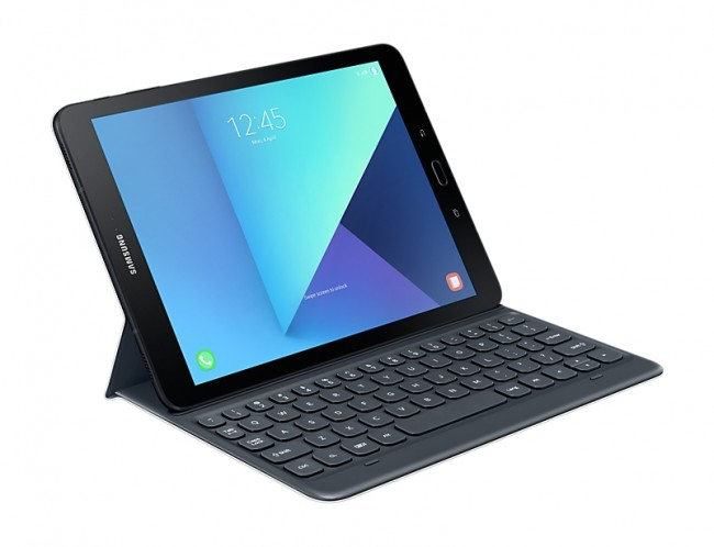 Калъф за Samsung Book Cover Keyboard Tab S3 Dark Gray