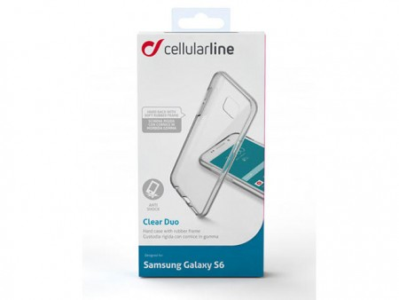Калъф за Samsung G920 Galaxy S6 Clear Duo