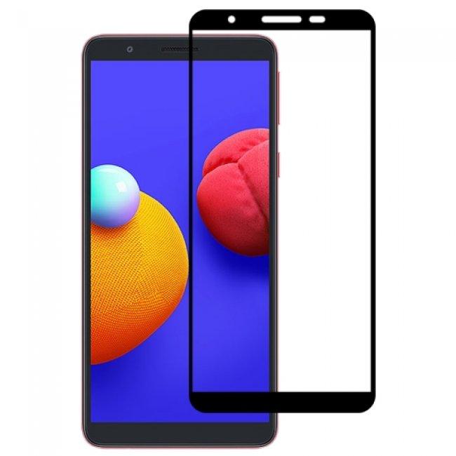 Стъклен Протектор за мобилен телефон Samsung Galaxy A01 Core 3D Tempered Glass