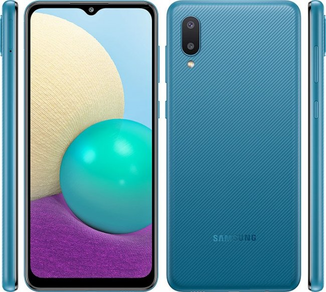 Смартфон Samsung Galaxy A02 A022 DUAL