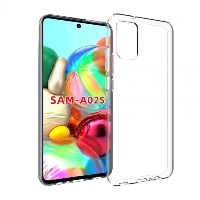 Калъф за Samsung Galaxy A02s прозрачен калъф