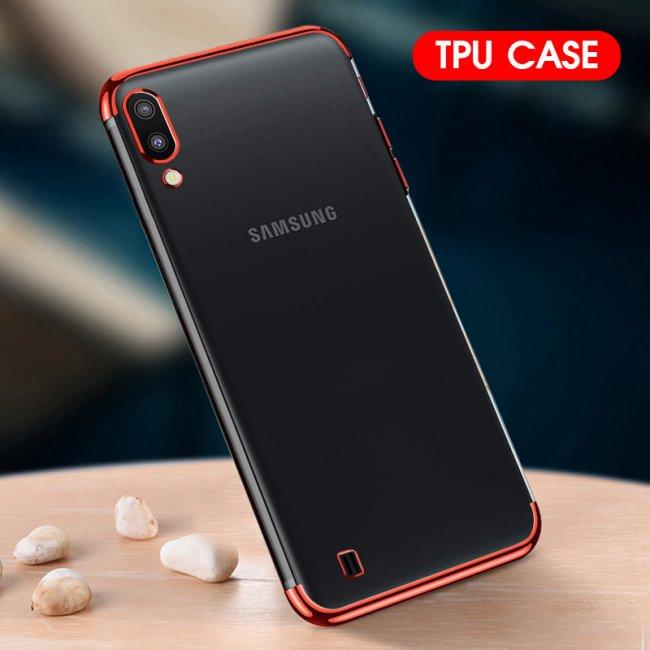 Калъф за Samsung Galaxy A10 Silicon Back Invisible Case - Прозрачен силиконов гръб