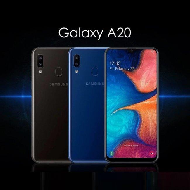 Снимки на Samsung Galaxy A20 A205 DUAL 2019