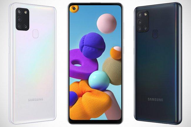 Смартфон Samsung Galaxy A21s A217 DUAL