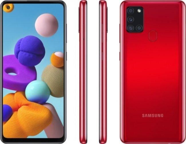 Samsung Galaxy A21s A217 DUAL Снимки