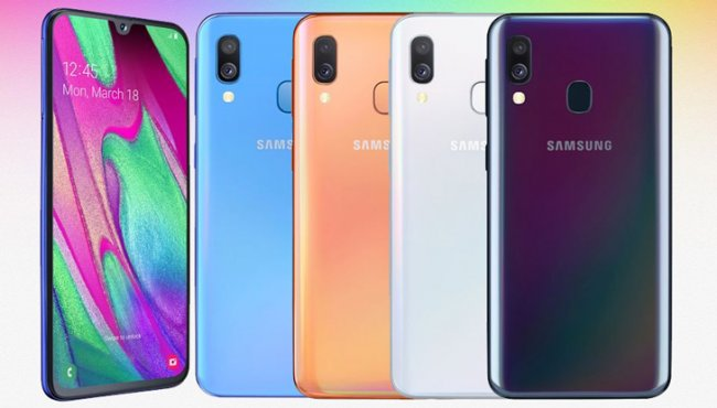 Смартфон Samsung Galaxy A405 A40 DUAL