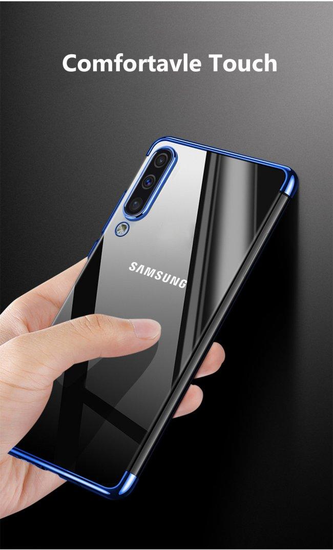 Калъф за Samsung Galaxy A50  Silicon Back Invisible Case - Прозрачен силиконов гръб