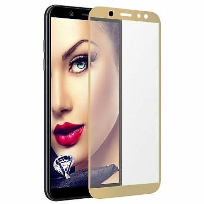 Стъклен Протектор за мобилен телефон Samsung GALAXY A6 Plus A605 (2018) стъклен протектор с пълно покритие