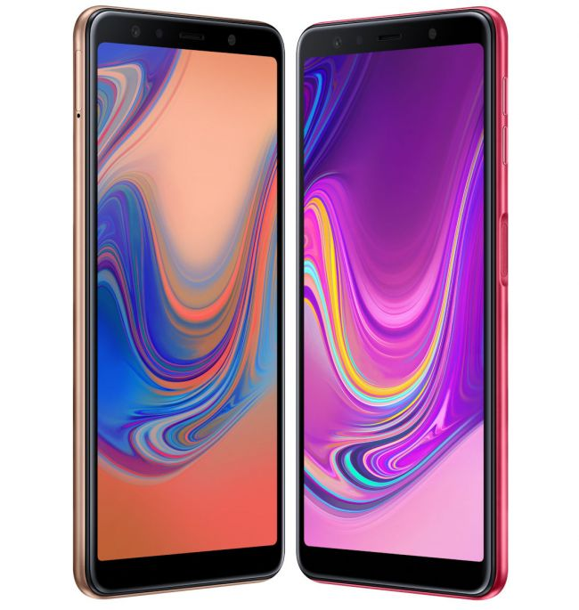 Цена на Samsung Galaxy A7 (2018) A750F DUAL