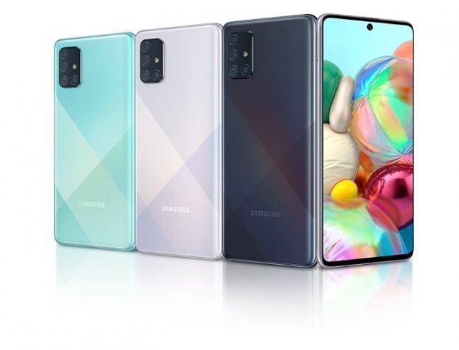 Смартфон Samsung Galaxy A71 A715 DUAL
