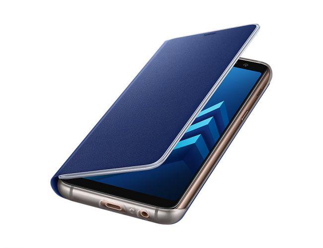 Снимка на Samsung Galaxy A8 (2018) A530 Neon Flip Cover