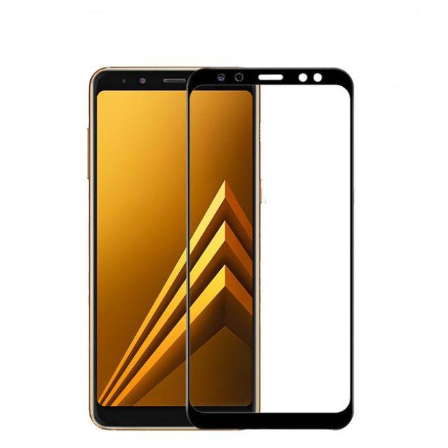 Стъклен Протектор за мобилен телефон Samsung Galaxy A8 A530 (2018)/ A5 (2018) стъклен протектор с пълно покритие