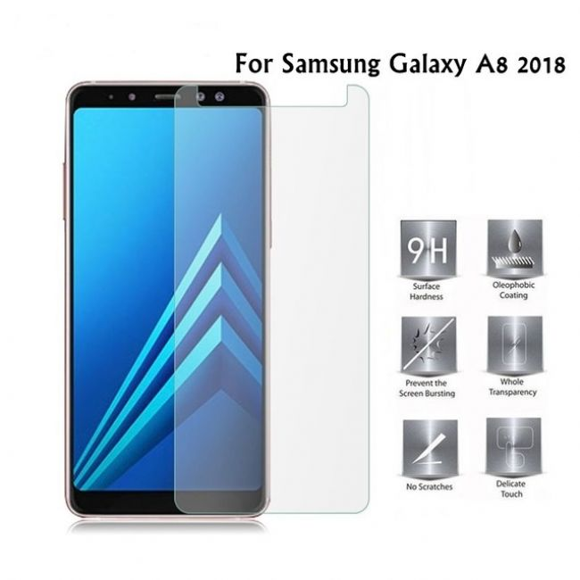 Протектор Samsung Galaxy A8 A530 (2018) / A5 (2018) закален стъклен протектор