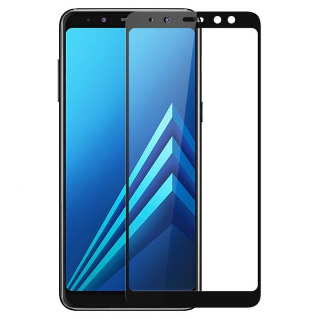 Стъклен Протектор за мобилен телефон Samsung Galaxy A8 Plus A730 (2018) стъклен протектор с пълно покритие