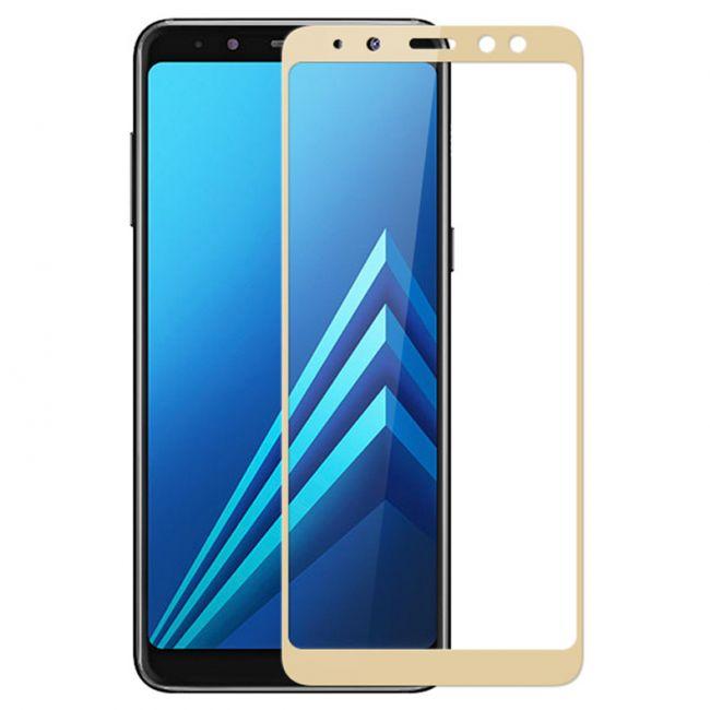 Цена на Samsung Galaxy A8 Plus A730 (2018) стъклен протектор с пълно покритие