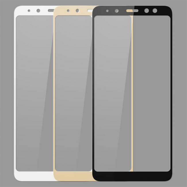 Снимка на Samsung Galaxy A8 Plus A730 (2018) стъклен протектор с пълно покритие